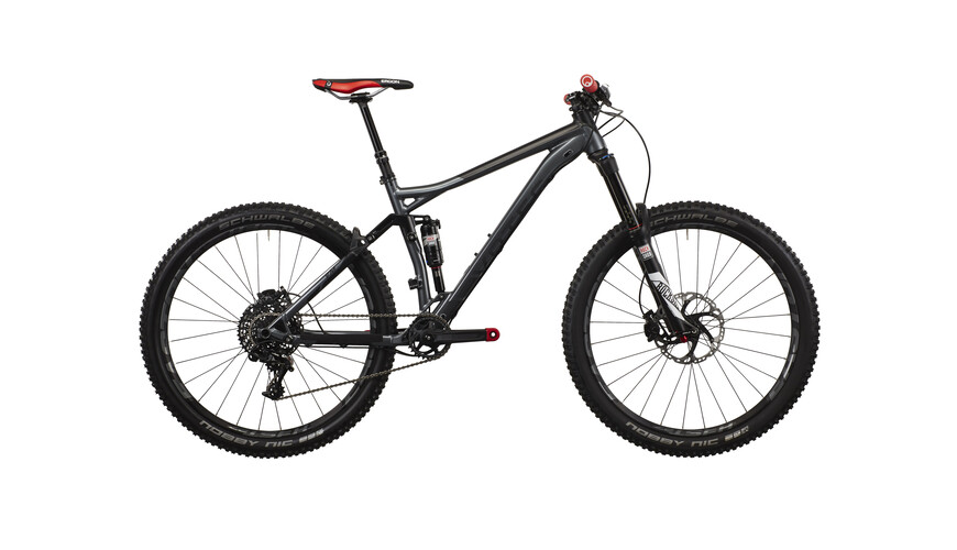 "VOTEC VM Pro All Mountain Fullsuspension täysjousitettu enduro 27.5"" , harmaa"